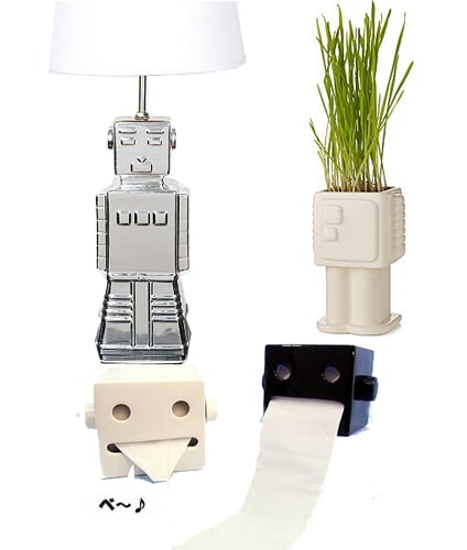 A Mechanical Household: Robots as Home Decor