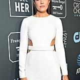 Mandy Moore at the 2019 Critics' Choice Awards