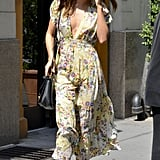 Miranda Kerr Keeps Cute Flynn Close and Showcases Two Sweet, Summery Looks
