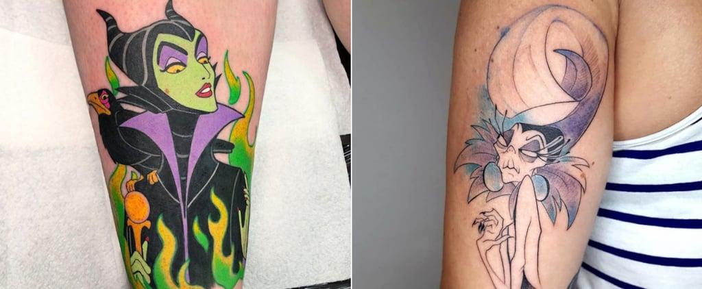 Disney Villain Tattoo Ideas and Inspiration