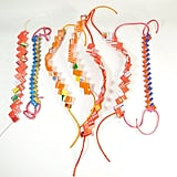 Here's a new take on the friendship bracelet — by way of cool recycled candy wrappers. Eco Bracelet ($3)