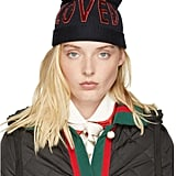 Gucci Navy Wool Loved Beanie