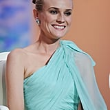 Diane Kruger sat for the show at the opening ceremony of the 65th annual Cannes Film Festival.