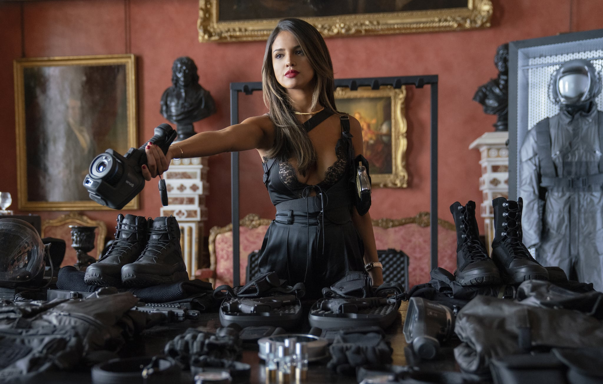 Eiza González as Madame M in