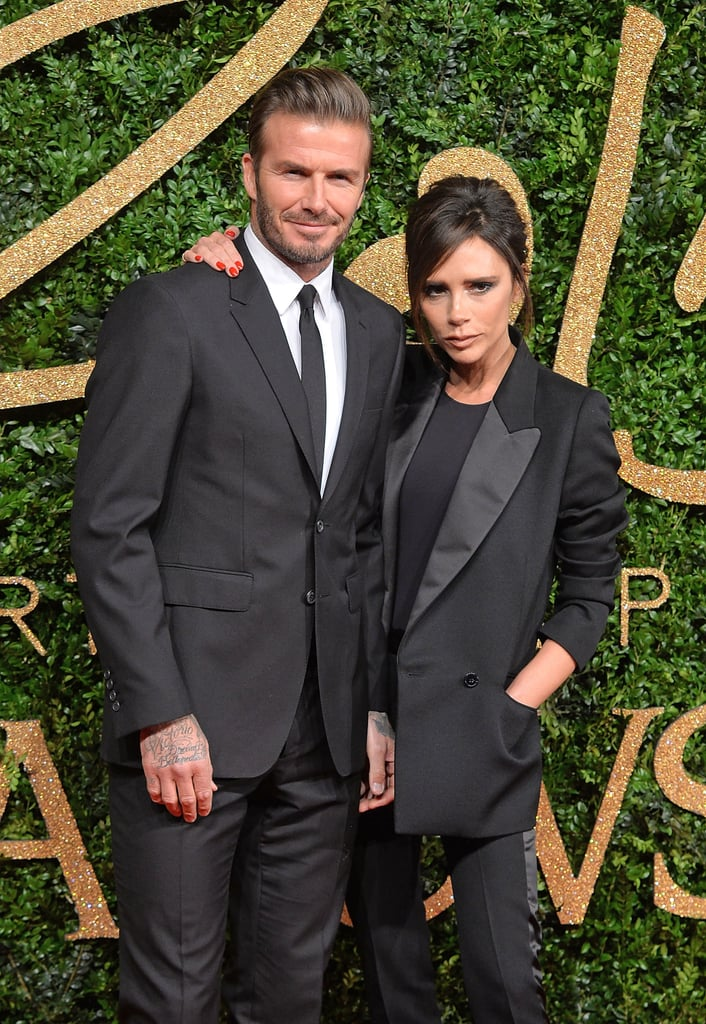 David and Victoria Beckham 2015