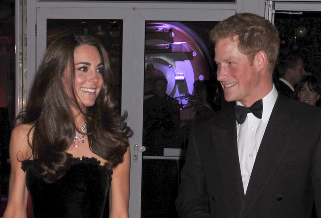 The pair smiled big during a dressed-up occasion in December 2011.