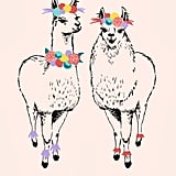 17-Month Llama Custom Planner