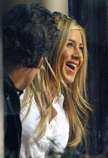 Pictures of Jennifer Aniston and Paul Rudd Shooting Wanderlust in NYC