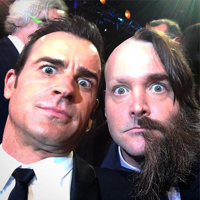 """""""Always awkward bumping into Will Forte... Half the time he's so sweet. The other half he acts like a total psycho."""""""