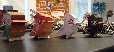 Cute Paper Birdies