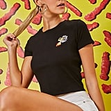 Forever 21 Cheetos Embroidered Graphic Tee