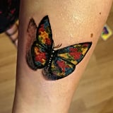Autism Butterfly Tattoo