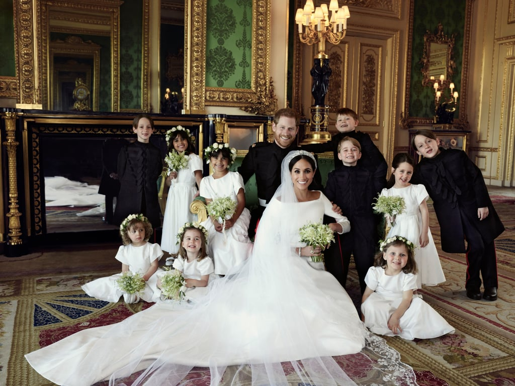 "Listen, I respect any photographer — professional or amateur — who can get a great photo of one child, let alone 10. Royal wedding photographer Alexi Lubomirski, who took the official portraits of the Duke and Duchess of Sussex, did just that when he managed to completely nail the two photos that included the 10 young bridesmaids and pageboys, who are all under the age of 7. However, he did have a little bit of help thanks to a tactic of Kate Middleton's kids' nanny, Maria Borrallo: candy bribes for good behavior. ""They were being bribed with one Smartie here, one Smartie there,"" Lubomirski told Reuters of his technique (which every mom in the universe can relate to). ""So, as soon as the kids came onto the set, I immediately just shouted out 'Who likes Smarties?' and then everybody, hands up, smiles, even some adults put their hands up."" The kids may have been on a sugar high afterwards, but those don't last very long. Good photographs are forever, and Lubomirski crushed it."