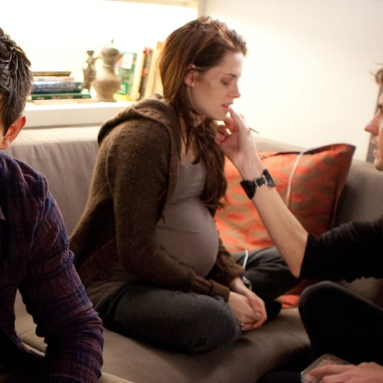 Exclusive Kristen Stewart as Pregnant Bella Swan Pictures From Breaking Dawn Part 1