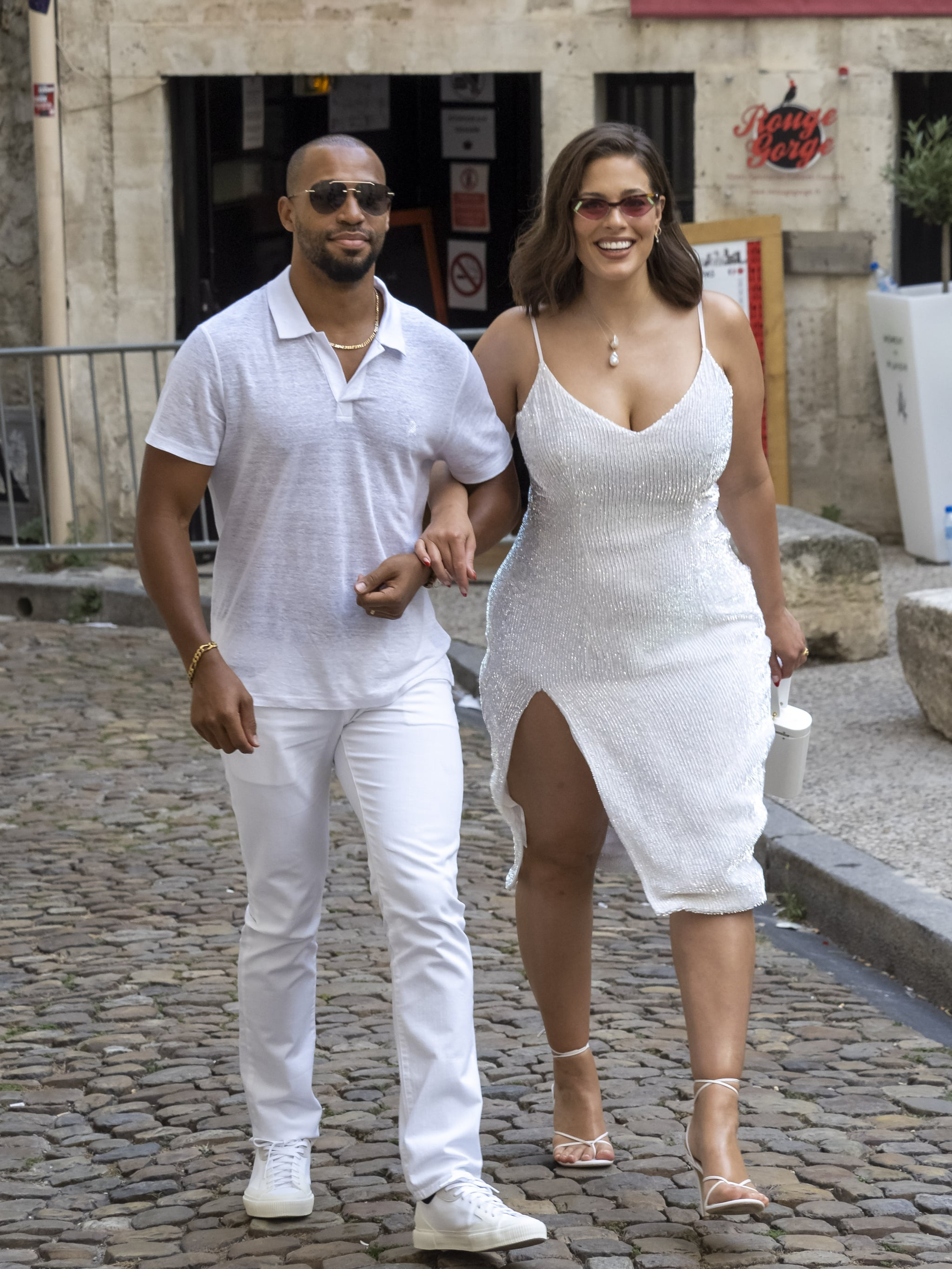 Ashley Graham Wedding.Ashley Graham And Justin Ervin At Joe Jonas And Sophie