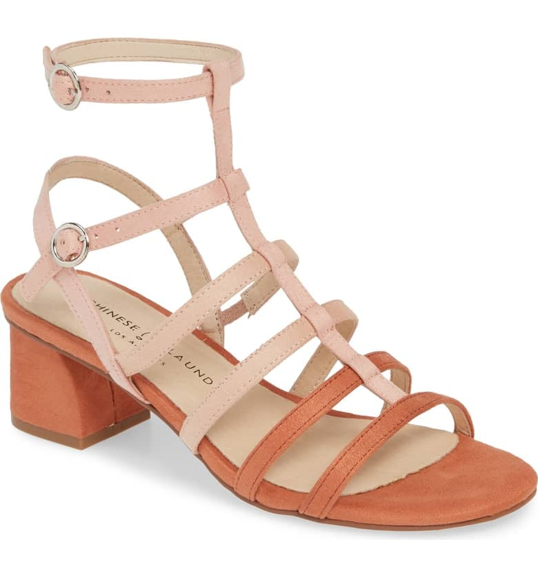 177f3bd3260 Chinese Laundry Monroe Strappy Cage Sandals