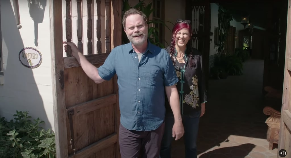 See Standout Moments From Rainn Wilson's Home Tour Video