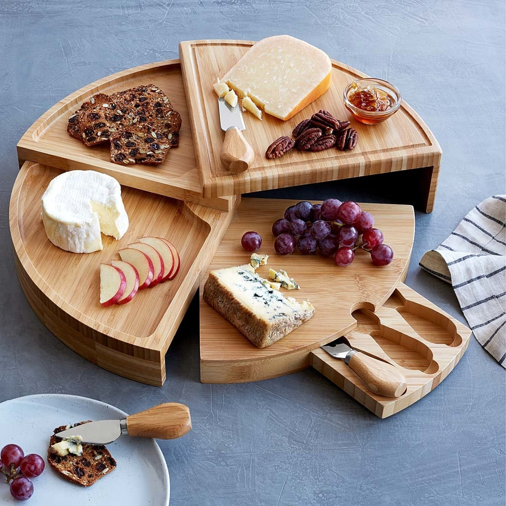 Compact Swivel Cheese Board With Knives | Best Useful Christmas ...