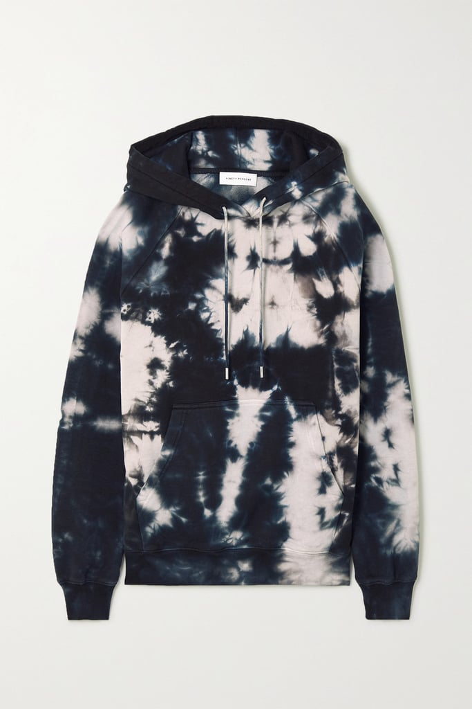 Ninety Percent Tie-Dyed Organic Cotton Terry Hoodie