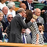 The Duchess of Cambridge at Wimbledon July 2017