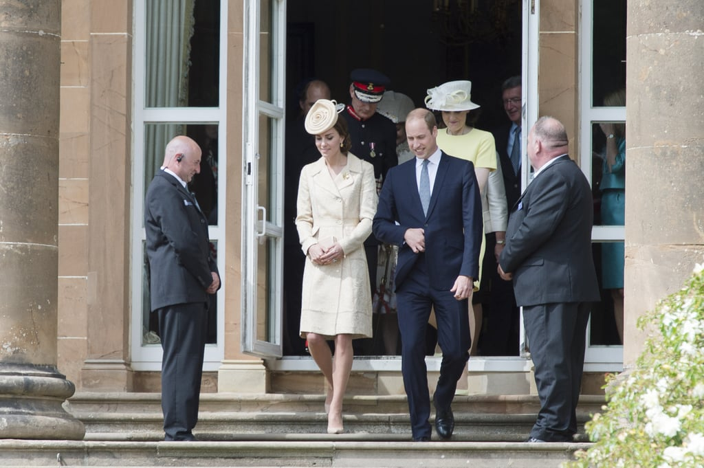 Kate Middleton Day Birger et Mikkelsen Coat in Ireland 2016
