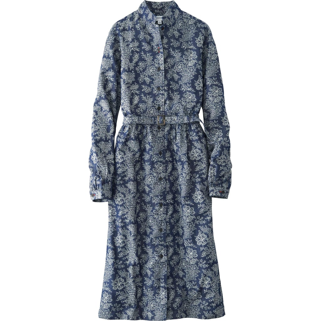 Uniqlo Denim Printed Dress