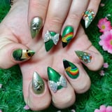 These 50+ Nail Art Ideas Will Shamrock Your St. Paddy s Day