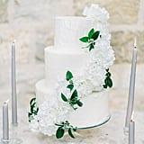 Winter White Hydrangea Cake
