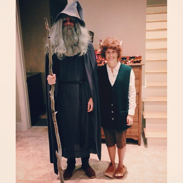 Gandalf and Frodo  sc 1 st  Popsugar & Gandalf and Frodo | Lord of the Rings Costumes | POPSUGAR Tech Photo 8