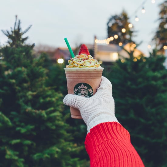 Starbucks Christmas Tree Frappuccino