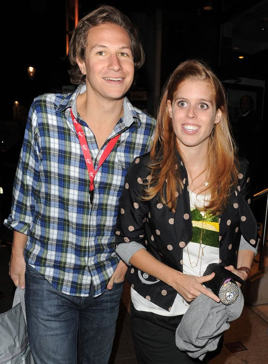 Pictures of Princess Beatrice and Dave Clark