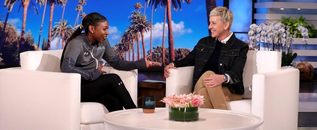 UCLA Gymnast Nia Dennis Appears on Ellen
