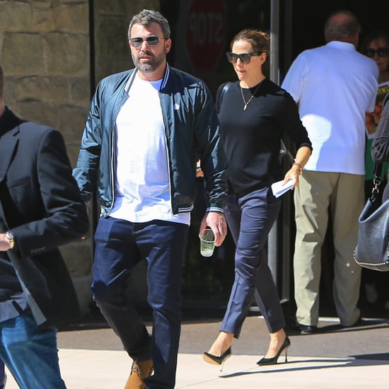 Ben Affleck and Jennifer Garner at Church Sept. 2018