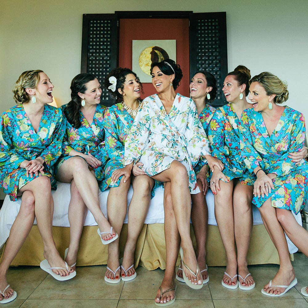 The bridesmaids are covering other major costs.