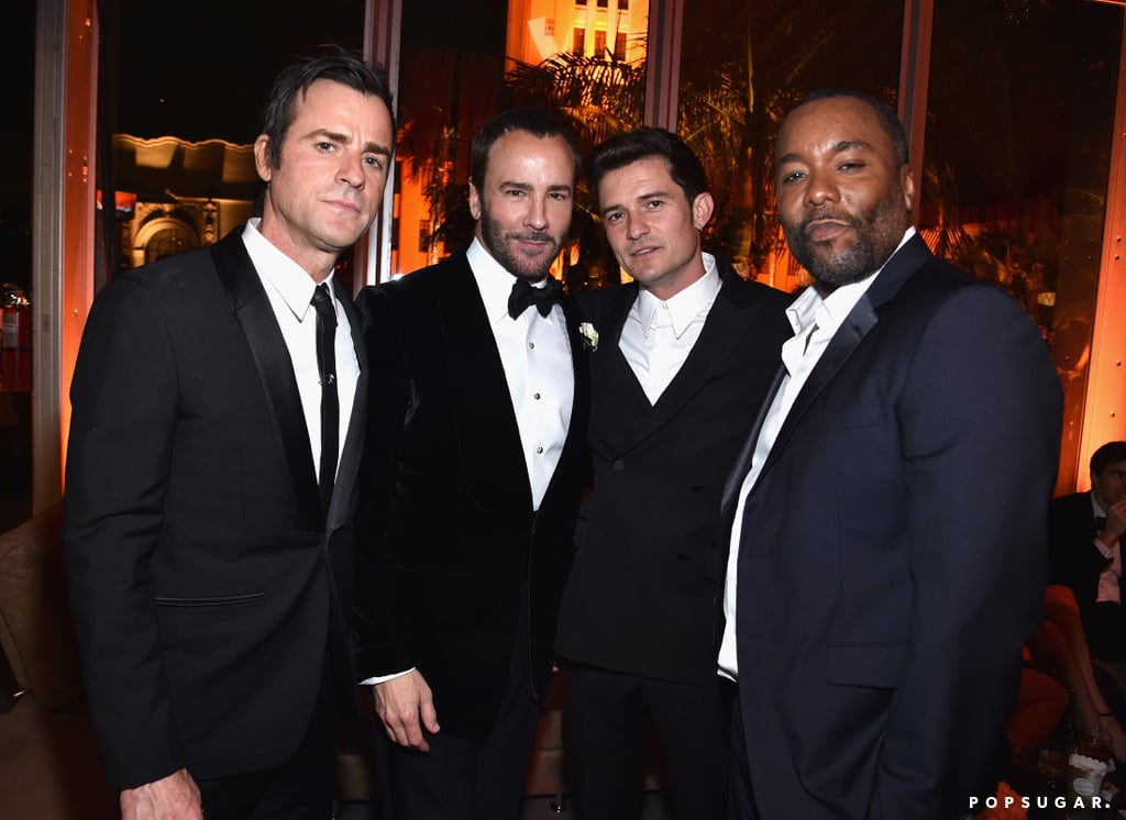 Pictured: Orlando Bloom, Lee Daniels, Tom Ford, and Justin Theroux