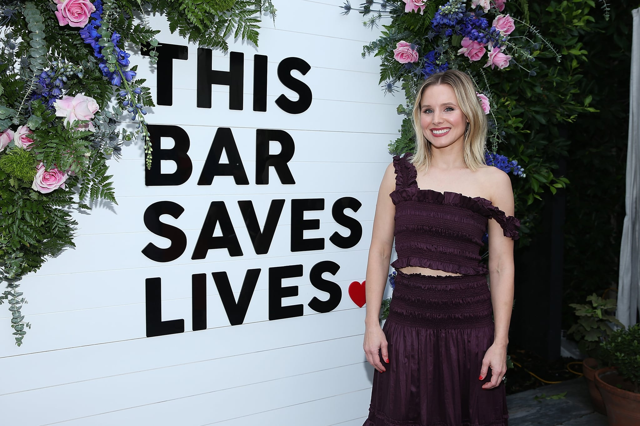 WEST HOLLYWOOD, CA - APRIL 05:  Kristen Bell attends This Bar Saves Lives Press Launch Party at Ysabel on April 5, 2018 in West Hollywood, California.  (Photo by Phillip Faraone/Getty Images)