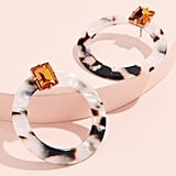 For Love & Lemons Nathalie Hoop Earrings