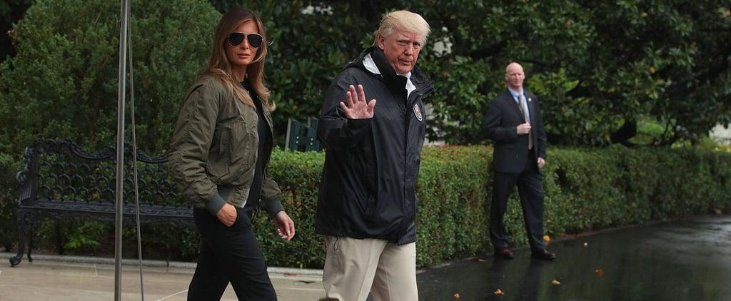 Manolo Blahnik Defends the Stilettos Melania Trump Wore After Hurricane Harvey