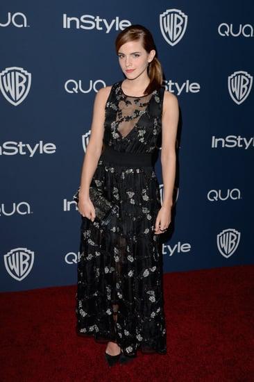 Emma-Watson-changed-black-dress-before-hitting-party