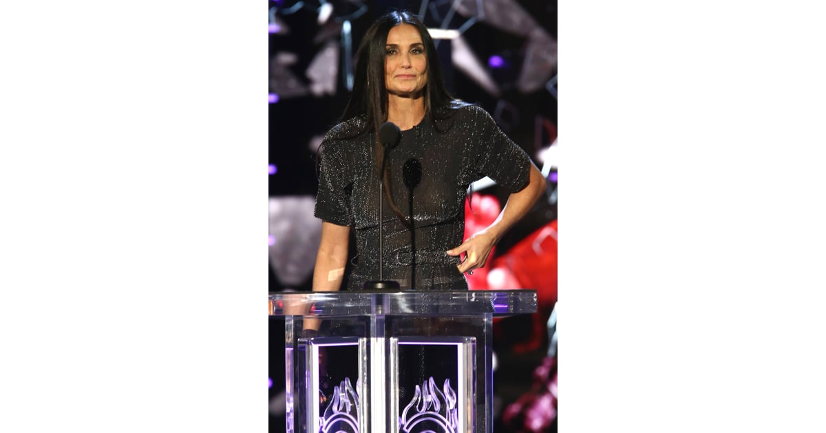 Bruce Willis and Demi Moore at Comedy Central Roast 2018 | POPSUGAR