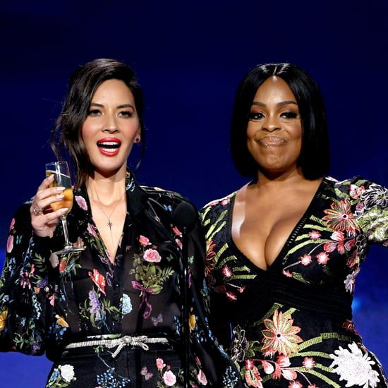 Olivia Munn and Niecy Nash Toast Good Guys | Critics' Choice