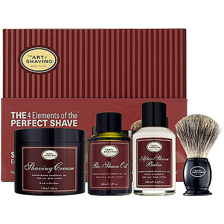 The Four Elements of the Perfect Shave Kit
