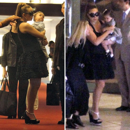 Mariah Carey Pictures With Moroccan and Monroe Cannon