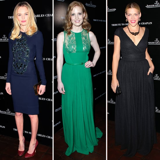 Kate Bosworth, Jessica Chastain, Chelsea Handler Pictures at Charlie Chaplin Oscars Party