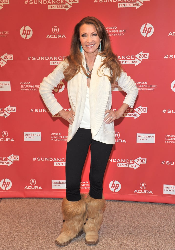 Jane Seymour walked the red carpet.
