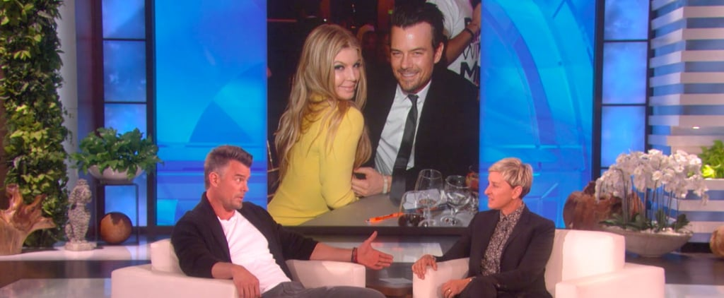 Josh Duhamel on The Ellen DeGeneres Show February 2018