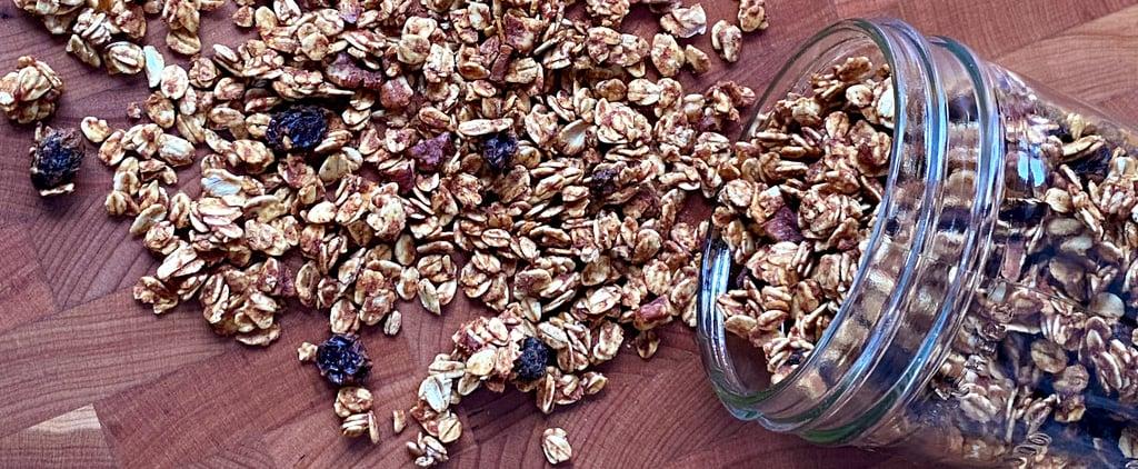 No-Refined-Sugar Low-Fat Granola Recipe