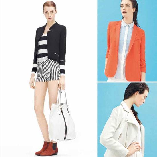 Tailored Shorts, Fringed Blazers and More in Sandro's Spring/Summer 2012 Look Book
