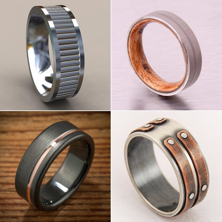 mens wood wedding band 160 unique engagement rings for men popsugar middle east love photo 16 - Wedding Rings For Guys