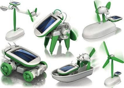 CSL Robotikits 6-in-1 Solar Kit ($5)